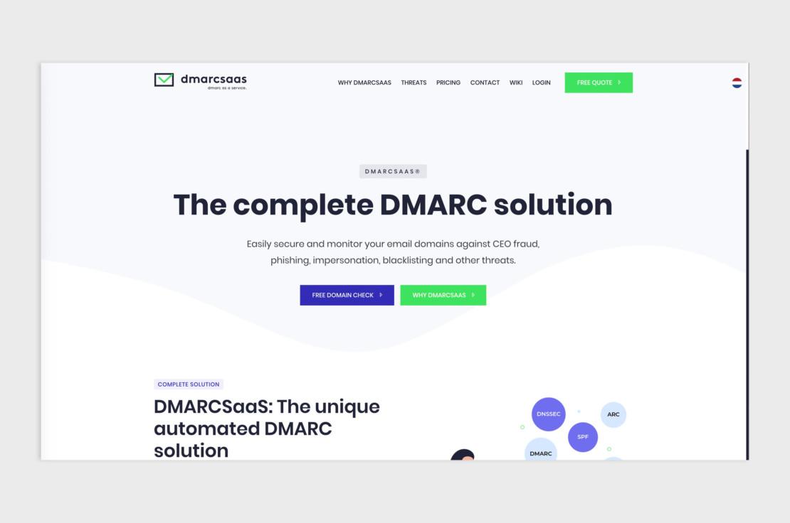 DMARCSaaS - DMARC as a Service